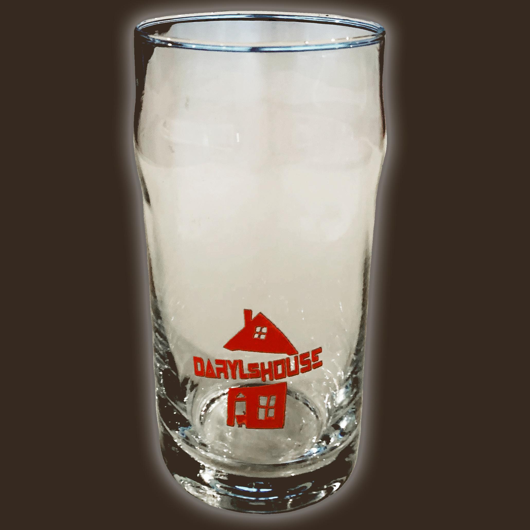 Daryl's House Logo Pint Glass